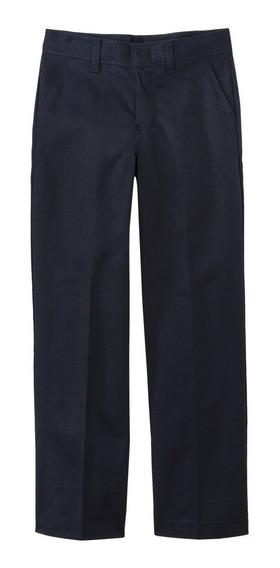 Pantalón Recto Para Niño Marca Dickies Color Azul A Precio Único Y Especial De Remate Ultima Pieza Y Talla