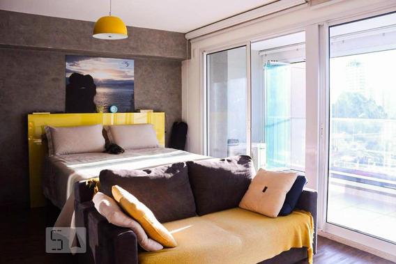 Apartamento Para Aluguel - Campo Belo, 1 Quarto, 50 - 893056723