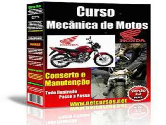 Curso Com Mecânica E Manutenção De Motos Em 56 Dvds Cod:04