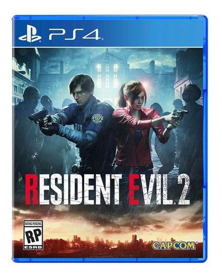 Jogo Resident Evil 2 Mídia Física - Ps4