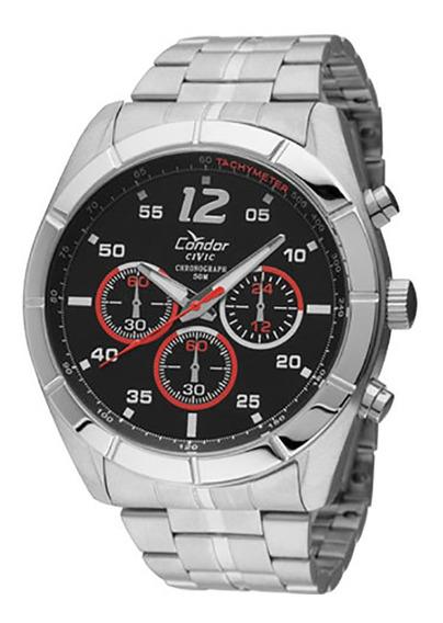 Relógio Condor Masculino Prata Ky203943p