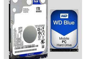 Hd Notebook Western Digital 1tb Sata 3 6gb/s 128mb Wd10spzx