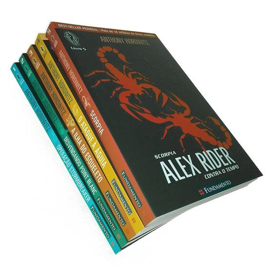 Alex Rider Contra O Tempo 5 Volumes Best-seller Mundial