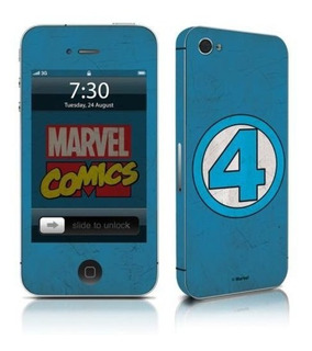 Adesivo Celular Quarteto Fantástico Marvel - P/ iPhone 5