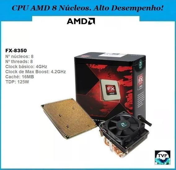 Processador Gamer Amd Fx-8350 4,2ghz + Cooler Amd (padrão)