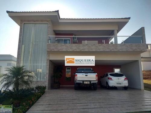 Casa Com 3 Dormitórios À Venda, 318 M² Por R$ 1.590.000,00 - Condomínio Chácara Ondina - Sorocaba/sp - Ca1343