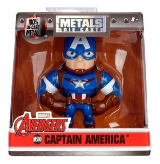 Muñecos Metal Figs Capitan America Local / Envios