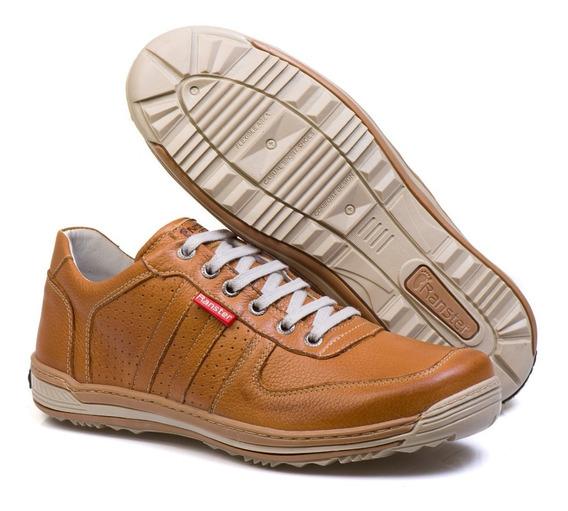 Sapato Sapatênis Casual Ranster 3002 Café + Frete Grátis