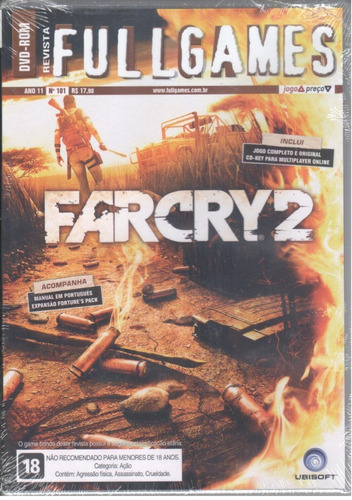 Far Cry 2 Pc Game Original Lacrado
