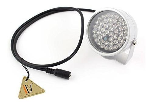 48 Iluminador Led Light Cctv Ir Infrarrojo Lampara De Vision