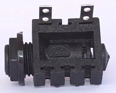 Conectores Jack P10 Mono Femea De Nylon