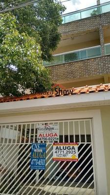 Sobrado Para Alugar No Bairro Parque Monte Alegre Em Taboão - 2096-2