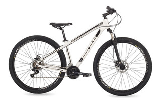 Bicicleta Venice Pro Disk Brake Mormaii Aro 29 Branco/preto