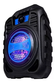 Parlante Zealot Mce123 Bluetooth Portátil Radio Fm Lector Sd