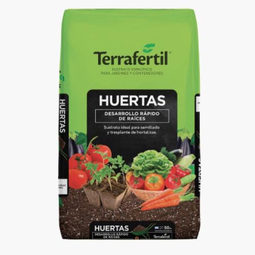Sustrato Huerta 50l Terra Fertil