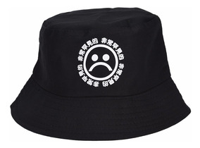 Chapéu Sad Boy Meme - Bucket Hat Balde Chapel Sadboys Zueira