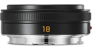 Leica Tl 18mm F28 Elmarittl Asph Black Lens