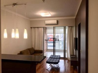 Lindo Apartamento Com 1 Dormitório Para Alugar, 62 M² Por R$ 6.500/mês - Itaim Bibi - São Paulo/sp - Ap77212