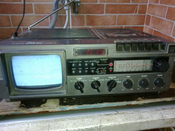 Radio Broksonic Funcionando Parcialmente,mas Por Bom Preço.