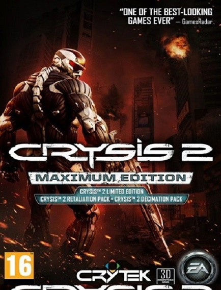 Crysis 2 Maximum Edition Pc - Steam Key (envio Flash)
