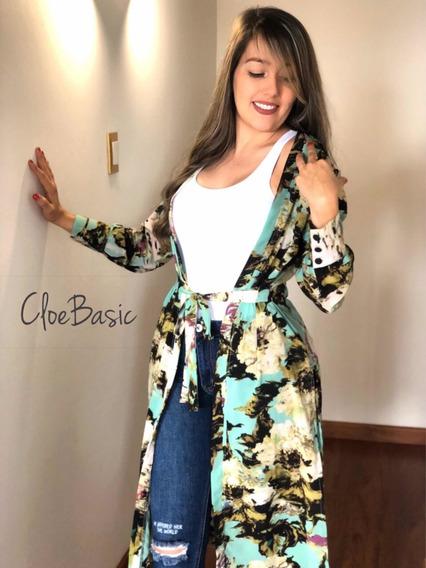 Kimono Para Dama Modelo Maxikimono Cloebasic
