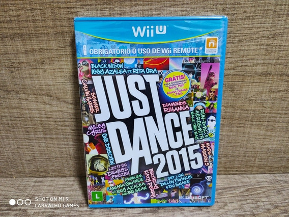 Just Dance 2015 Nintendo Wii U - Lacrado