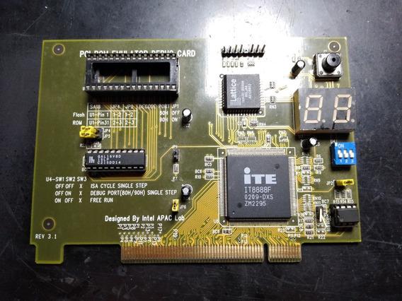 Debug Card Pc Analizer Intel Apac Labs Raridade!