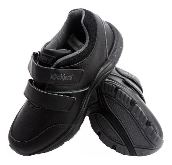 Zapatillas Kickers Drake Colegial Niño 585349 Eezap