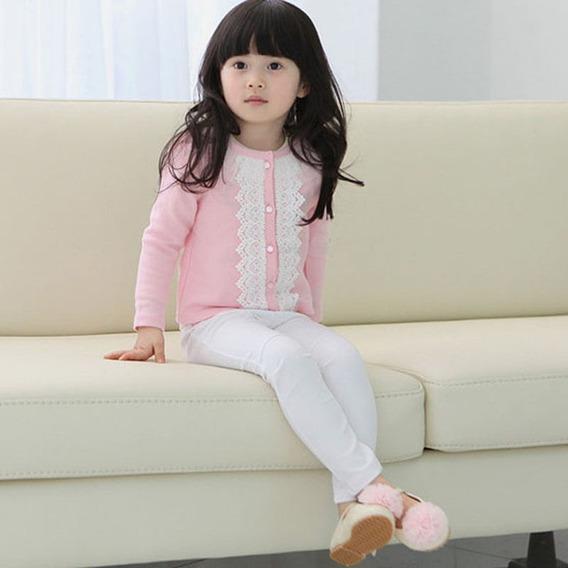 Casaco Infantil Feminino Jaqueta Cardigan Inverno Frete 15,0