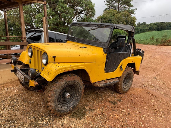 Jeep Willys 6 Cc 4 Marchas 1964 Original