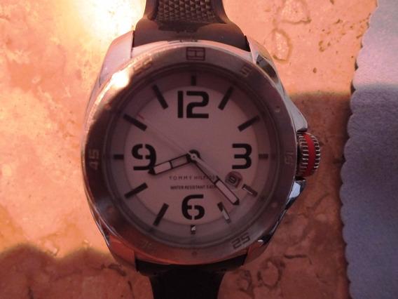 Relógio Masc Tommy Hilfiger Borracha Preta - Th1131140929