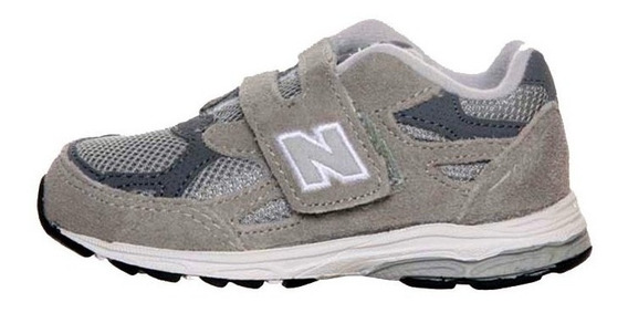 Zapato Deportivo - New Balance - Niño - Gris Y Blanco # 24