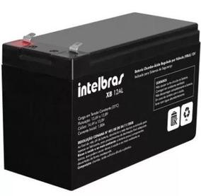 Bateria Selada 12v 6a Alarme Cerca Elétrica Xb12al Intelbras