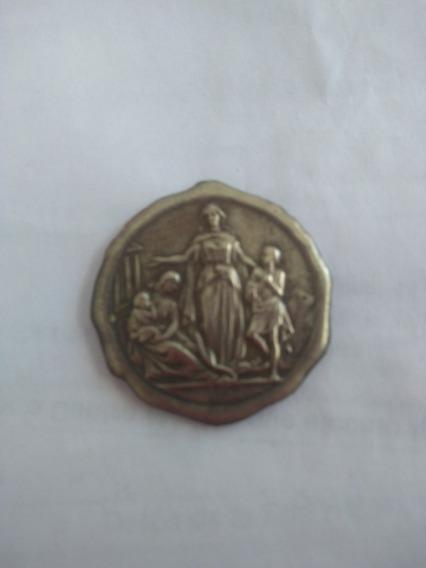 Medalla Sociedad De Beneficencia San Luis 1907