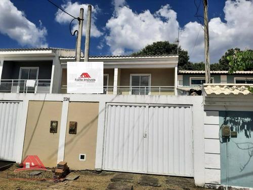 Casa Duplex C/ 2 Dormitórios No Bairro Salin  Cg/rj - Ca0121
