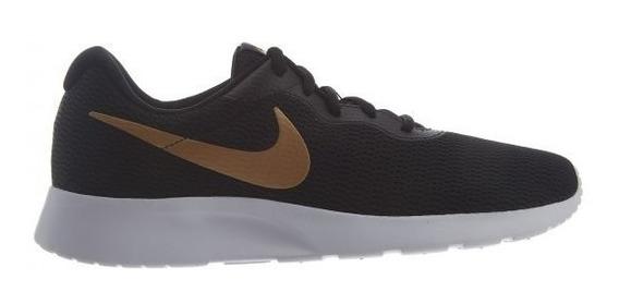 Tenis Nike Tanjun Negro/dorado Aq7154 001
