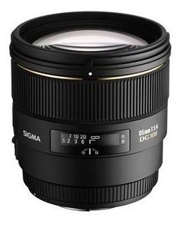 Lente Sigma Nikon Dg 85mm F1.4 Ex