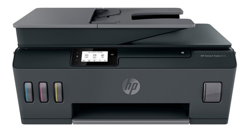 Impresora A Color Multifunción Hp Smart Tank 615 Con Wifi 200v - 240v  Negra