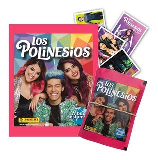 Álbum Los Polinesios 2019 Panni + 75 Figuritas + 5 Sobres