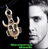 Colar Dean Winchester Supernatural Sobrenatural Dupla Face