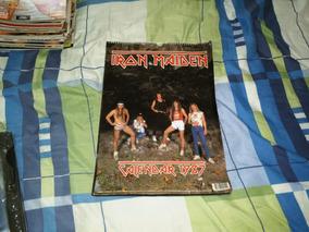 Iron Maiden Calendario Poster Ano 1987