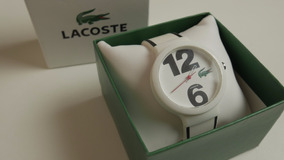 Relógio Lacoste Branco Original