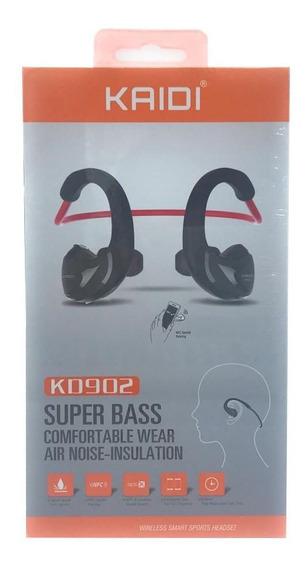 Fone De Ouvido Bluetooth Sem Fio Com Microfone Kaidi Oferta