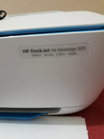 Empressora Multifuncional Hp Deskjet Link Advantge 3635