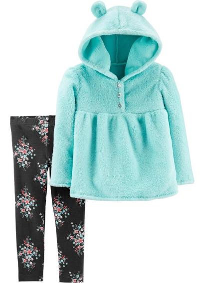 Conjuntos Carters Niña Blusa Y Pantalón