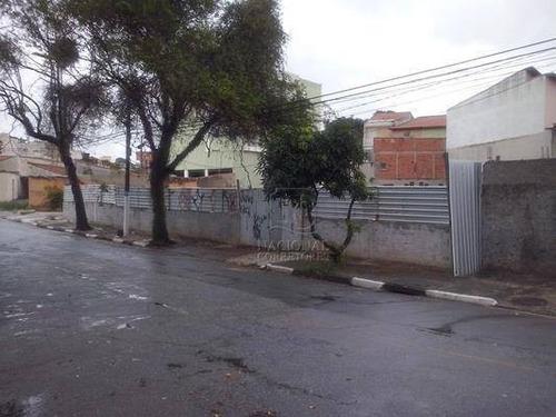 Terreno Residencial Para Venda E Locação, Vila Pires, Santo André - Te0236. - Te0236
