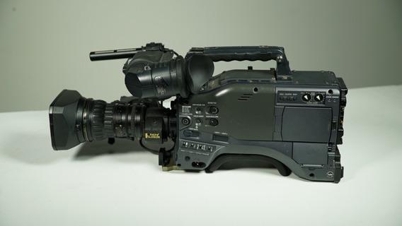 Camera Panasonic Hpx-500 C/ Lente Fujinon 17x C/ Duplicador