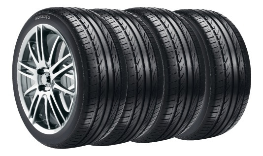 Combo X4 Neumaticos Fate 225/75r15 Range Runner H/t 108t