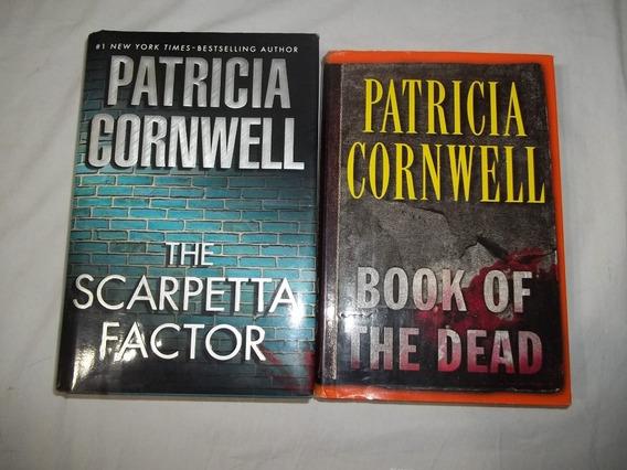 2 Livros Patrícia D. Cornwell - Em Ingles - Conforme Foto