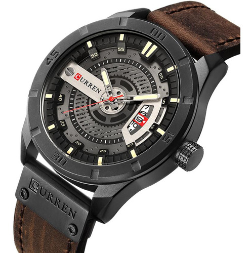Reloj Hombre Curren 8301 - Café